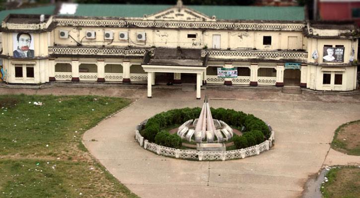 কুমিল্লার বীরচন্দ্র নগর মিলনায়তন-পাঠাগার ভবন রক্ষার দাবি