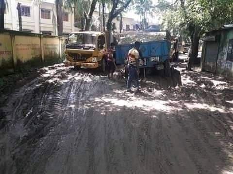 কানাইঘাটের পৌরসভার রাস্তা: ভোগান্তির যেন শেষ নেই!