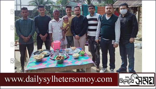 দক্ষিণ সুরমার বলদীতে পিঠা উৎসব পালন