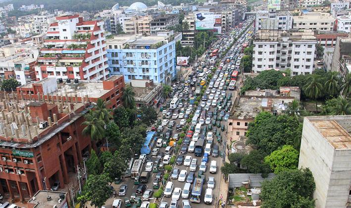 ঢাকা বিশ্বের চতুর্থ বসবাসের অযোগ্য শহর