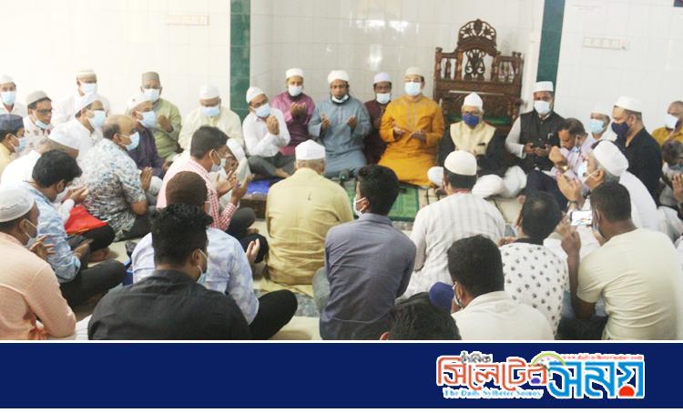 বঙ্গমাতা'র জন্মদিন উপলক্ষ্যে জেলা আওয়ামী লীগ দোয়া মাহফিল ও খাবার বিতরণ