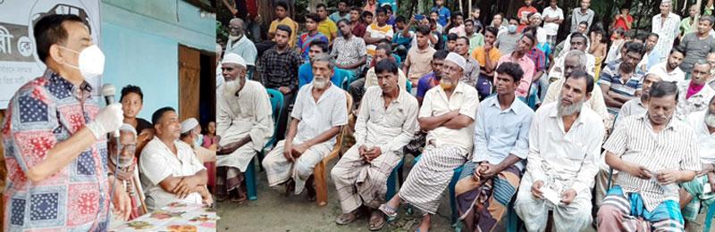 দক্ষিণ সুরমা ও ফেঞ্চুগঞ্জে গণসংযোগ : শফি আহমদ চৌধুরী