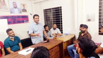 এসপিএল ২০২১ আয়োজক কমিটির সাথে ডা: শিপলুর মতবিনিময়