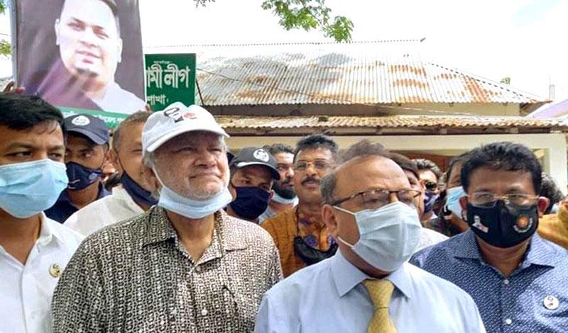সুনামগঞ্জে উড়াল সেতু নির্মাণ করবে সরকার :এলজিআরডি মন্ত্রী