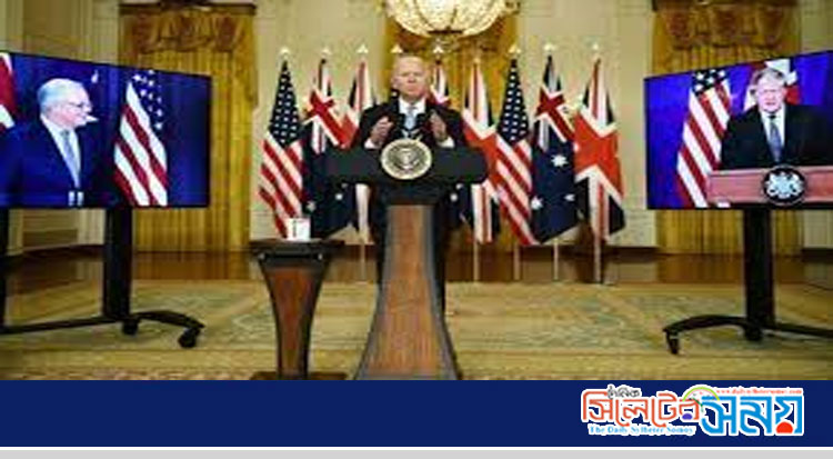 যুক্তরাষ্ট্র যুক্তরাজ্য ও অস্ট্রেলিয়ার নতুন জোট 'চীনকে ঠেকাতে'